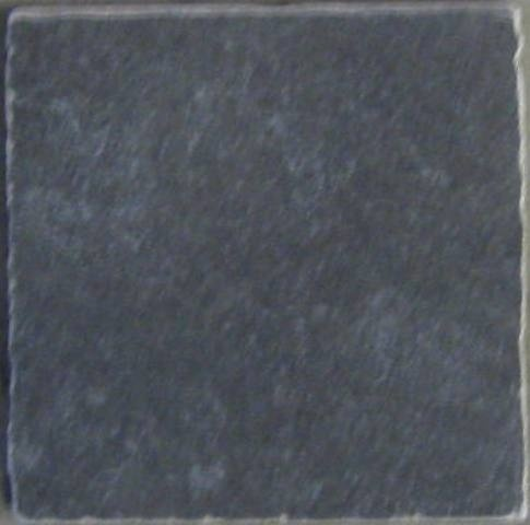 Vloertegels Private label, Pietra new nero getrommeld, Maat 15 x 15 cm. - 3790