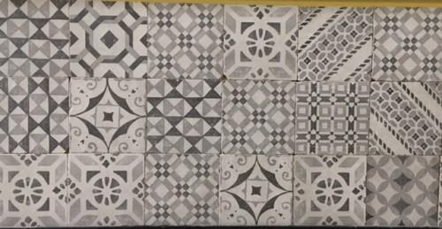 Vloertegels Ùnico, Abriola vintage, maat 14.5 x 14.5 cm. - 4049d