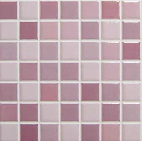 Wandtegels Roca, Mosaico Rainbow VI, Maat 28 x 28 cm. - 4099