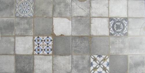 Mozaiek, Alagna gris, maat 45 x 45 cm. - 4179