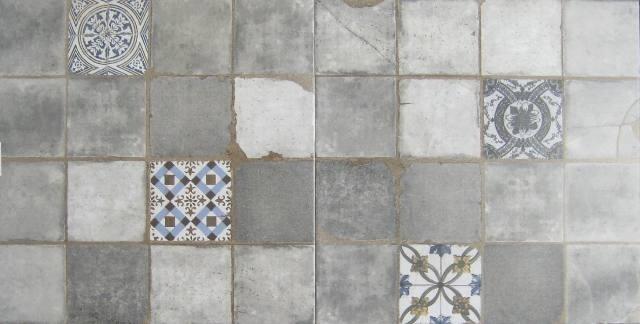 Mozaiek Vloertegels Badkamer : Mozaiek alagna gris maat cm tegels tegels