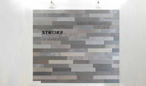 Stroke® grey long, 9.7 cm. hoogte, variabele breedte vanaf 45 cm. - 8000