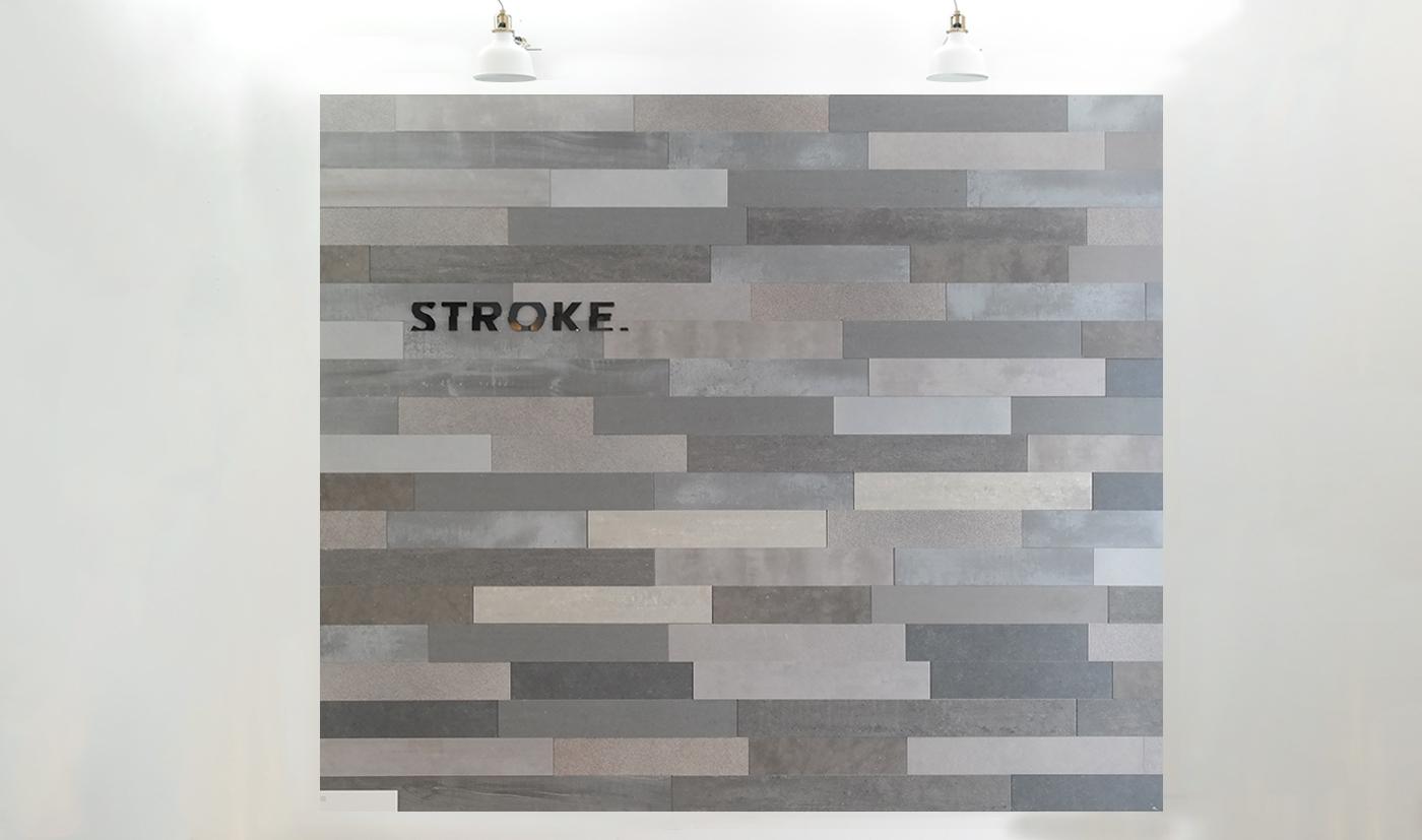 Hoogte Sierstrip Badkamer : Stroke urban grey cm hoogte variabele breedte vanaf cm