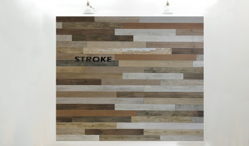 Stroke wood® long, 9.7 cm. hoogte, variabele breedte vanaf 45 cm. - 8003