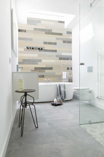 Stroke® Industrial shades, 9.7 cm. hoogte, variabele breedte vanaf 45 cm. - 8004