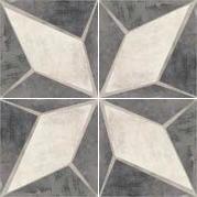 Vloertegels Vintage Retro decor 1, maat 20 x 20 cm. - 10004