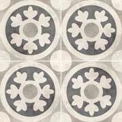 Vloertegels Vintage Retro decor 11, maat 20 x 20 cm. - 10014