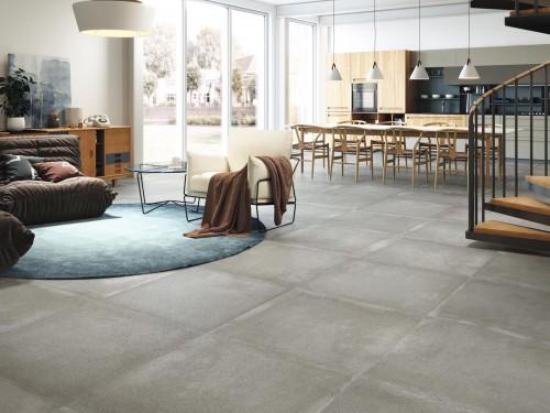 Vloertegels Squares, Grafton grijs, maat 80 x 80 cm. - 4754