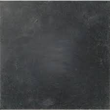 Vloertegels Desert black gothic natuursteen, getrommeld, maat 40 x 40 cm. - 9001c