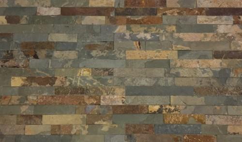 Wandtegels Stonepanel Rusty natuursteen, maat 15 x 55 cm. - 10022 (let op: alleen online verkrijgbaar)