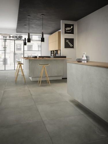 Vloertegels Cologne grey, maat 120 x 120 cm. - 10028 (let op: alleen online verkrijgbaar)