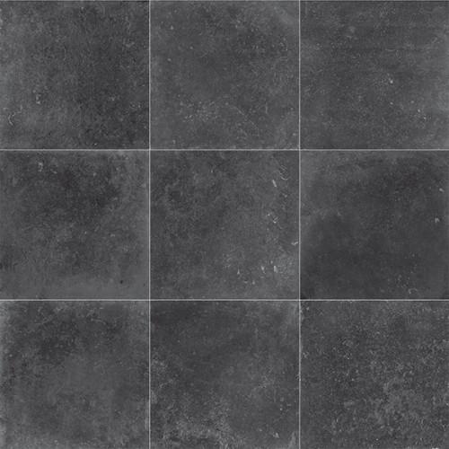 Vloertegels Masone feeling zwart, maat 60 x 60 cm. - 4778