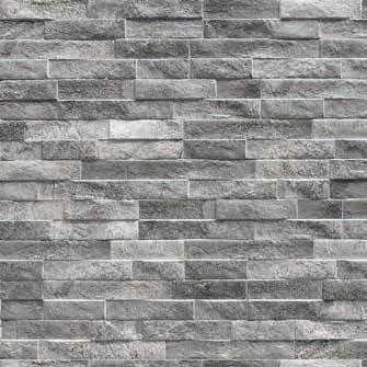 Wandtegels Ùnico Rock grey, maat 7.5 x 38.5 cm. - 4843