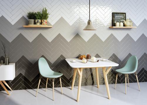 Wandtegels Ùnico blanco mat, maat 7.5 x 30 cm. - 4872