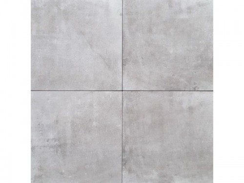 Vloertegels Squares, light grey maat 81 x 81 cm. - 4899