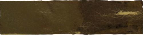 Wandtegels Ùnico Asti golden craquele, maat 7.5 x 30 cm. - 4956