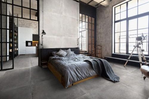 Vloertegels Squares Atena grey, maat 120 x 120 cm. - 4955