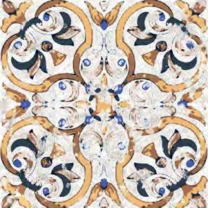 Vloertegels Ùnico Tomar, maat  20,5 x 20,5 cm. - 4951