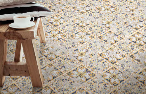 Vloertegels Ùnico Coimbra, maat  20,5 x 20,5 cm. - 4949