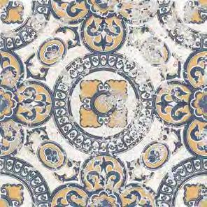 Vloertegels Ùnico Braga, maat  20,5 x 20,5 cm. - 4948