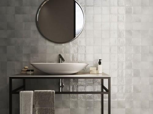 Wandtegels Ùnico Zellige grey, maat 10  x 10 cm. - 4957c