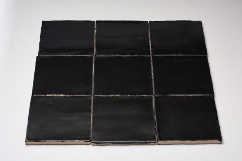Wandtegels Masone, Zwart, maat 13 x 13 cm. - 4533
