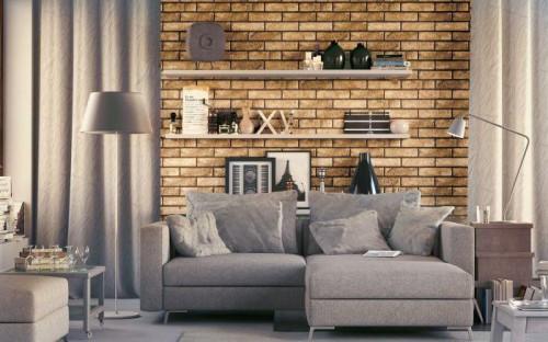 Vloertegels Ùnico Brick Bacoli beige, maat 6 x 25 x 1.0 cm. - 10113