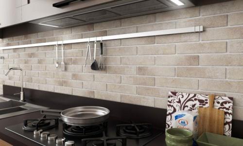 Vloertegels Ùnico Brick Badesi cream, maat 6 x 25 x 1.0 cm. - 10115