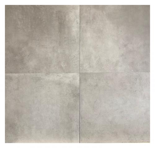 Vloertegels Squares Avella light grey, maat 60 x 120 cm. - 5390