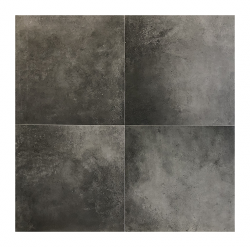 Vloertegels Squares Avella black, maat 60 x 120 cm. - 5391