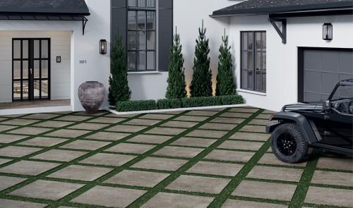 Terrastegels Abetone cenere, maat 60 x 60 x 2.0 cm. - 5518 (let op: alleen online verkrijgbaar)