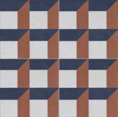 Vloertegels Ùnico Baiso decor 3, maat 20 x 20 x 1.0 cm. - 10142 (let op: alleen online verkrijgbaar)