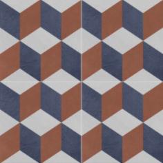Vloertegels Ùnico Baiso decor 4, maat 20 x 20 x 1.0 cm. - 10143 (let op: alleen online verkrijgbaar)