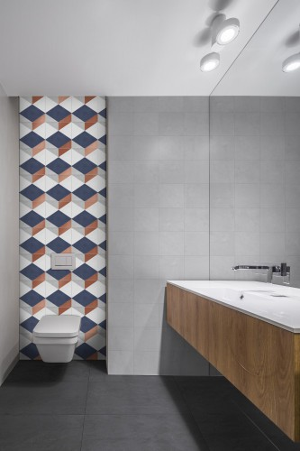 Vloertegels Ùnico Baiso decor 5, maat 20 x 20 x 1.0 cm. - 10144 (let op: alleen online verkrijgbaar)