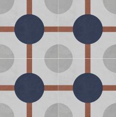 Vloertegels Ùnico Baiso decor 6, maat 20 x 20 x 1.0 cm. - 10145 (let op: alleen online verkrijgbaar)