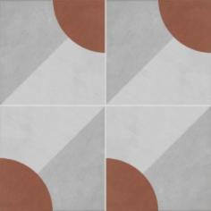 Vloertegels Ùnico Baiso decor 8, maat 20 x 20 x 1.0 cm. - 10147 (let op: alleen online verkrijgbaar)