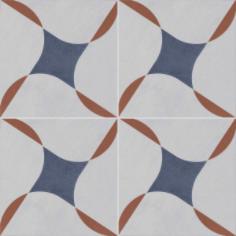 Vloertegels Ùnico Baiso decor 9, maat 20 x 20 x 1.0 cm. - 10148 (let op: alleen online verkrijgbaar)
