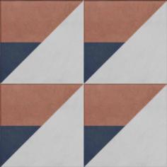 Vloertegels Ùnico Baiso decor 10, maat 20 x 20 x 1.0 cm. - 10149 (let op: alleen online verkrijgbaar)