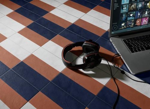 Vloertegels Ùnico Baiso decor 11, maat 20 x 20 x 1.0 cm. - 10150 (let op: alleen online verkrijgbaar)