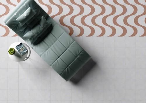 Vloertegels Ùnico Baiso decor 12, maat 20 x 20 x 1.0 cm. - 10151 (let op: alleen online verkrijgbaar)