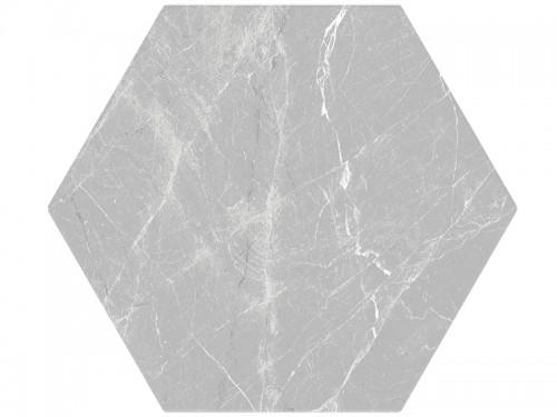 Vloertegels Ùnico, Hexagon banchette grijs, maat 20 x 24 x 1.0 cm. - 5576